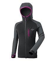 Dynafit Radical PTC - giacca in pile - donna, Grey/Dark Grey/Pink