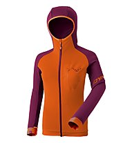 Dynafit Radical Polartec - Fleecejacke mit Kapuze - Damen, Purple/Orange