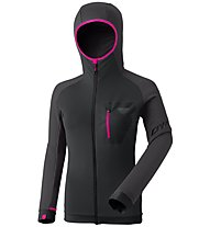Dynafit Radical PTC - giacca in pile - donna, Black/Dark Grey/Pink