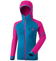 Dynafit Radical PTC - giacca in pile - donna, Light Blue/Pink
