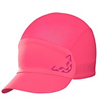 Dynafit React Visor - cappellino trail running, Pink/Dark Pink