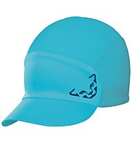 Dynafit React Visor - cappellino trail running, Light Blue/Blue