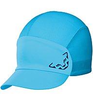 Dynafit React Visor - cappellino trail running, Light Blue