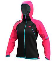 Dynafit Ride 3 L W Jkt - Hardshelljacke - Damen , Black/Pink