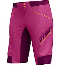 Dynafit Ride DST - pantaloni bici MTB - donna, Pink/Violet/Orange