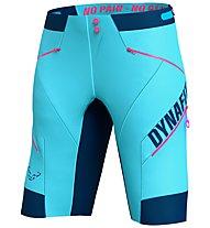 Dynafit Ride DST - pantaloni bici MTB - donna, Light Blue/Blue
