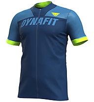 Dynafit Ride Full Zip - Trailrunningshirt - Herren, Blue/Green