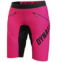 Dynafit Ride Light S Durastretch - pantaloni MTB e trail running - donna, Pink/Dark Pink/Orange