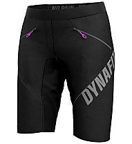 Dynafit Ride Light S Durastretch - pantaloni MTB e trail running - donna, Black/Grey/Violet