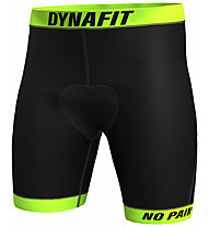 Dynafit Ride Padded Under - Radhose - Herren, Black/Yellow