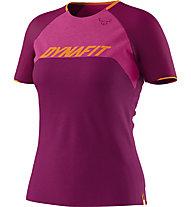 Dynafit Ride Tee - T-Shirt - Damen, Violet/Pink/Orange