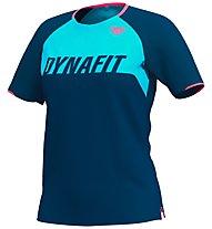 Dynafit Ride Tee - T-Shirt - Damen, Dark Blue/Light Blue