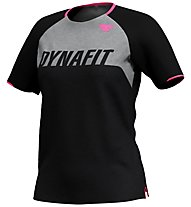 Dynafit Ride Tee - T-Shirt - Damen, Black/Light Grey