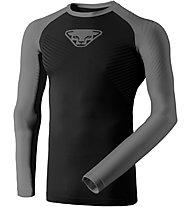 Dynafit Speed Dryarn - maglietta tecnica a maniche lunghe - uomo, Black/Grey