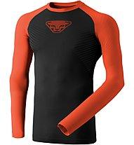 Dynafit Speed Dryarn - maglietta tecnica a maniche lunghe - uomo, Black/Red