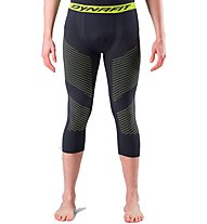 Dynafit Speed Dryarn - calzamaglia sci alpinismo - uomo, Black/Yellow