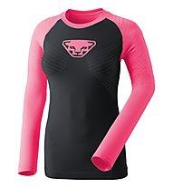 Dynafit Speed Dryarn  - maglietta tecnica a maniche lunghe - donna, Black/Pink
