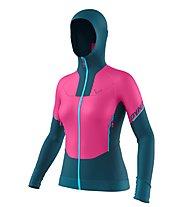 Dynafit Speed Hybrid W - giacca ibrida - donna, Pink/Blue