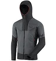 Dynafit Speed Insulation Hooded - Primaloftjacke - Herren, Dark Grey/Black/Red
