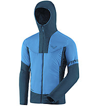 Dynafit Speed Insulation Hooded - giacca in Primaloft - uomo, Light Blue/Blue