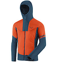 Dynafit Speed Insulation Hooded - giacca in Primaloft - uomo, Orange/Blue