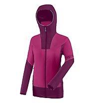 Dynafit Speed Insulation W - giacca alpinismo con cappuccio - donna, Pink/Purple