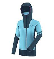 Dynafit Speed Insulation W - giacca alpinismo con cappuccio - donna, Light Blue/Dark Blue