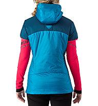 Dynafit Speed Insulation - gilet con cappuccio sci alpinismo - donna, Blue
