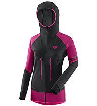 Dynafit Speed Softshell - Skitourenjacke - Damen, Black/Pink