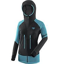 Dynafit Speed Softshell - giacca scialpinismo - donna, Black/Blue