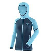 Dynafit Speed Thermal - giacca softshell con cappuccio - donna, Dark Blue/Light Blue