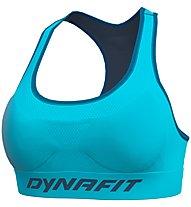 Dynafit Speed W - reggiseno sportivo a sostegno elevato - donna, Light Blue/Dark Blue