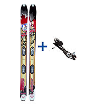 Dynafit Stoke Freeride Set: Ski+Bindung