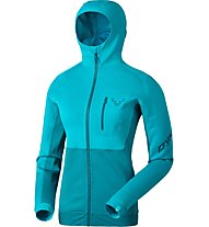 Dynafit Thermal Layer 4 - Fleecejacke mit Kapuze Skitour - Damen, Light Blue
