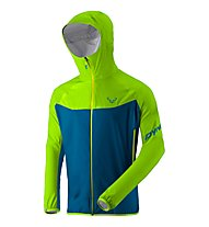 Dynafit TLT 3L - giacca softshell sci alpinismo - uomo, Light Green/Blue