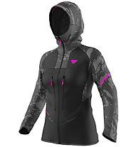 Dynafit TLT Camo GTX - giacca in GORE-TEX - donna, Black/Pink
