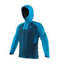 Dynafit TLT Gore-Tex® M - giacca alpinismo con cappuccio - uomo, Dark Blue/Light Blue