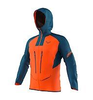 Dynafit TLT Gore-Tex® M - Alpinjacke mit Kapuze - Herren, Orange/Dark Blue