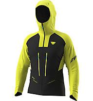 Dynafit TLT Gore-Tex® M - Alpinjacke mit Kapuze - Herren, Black/Yellow