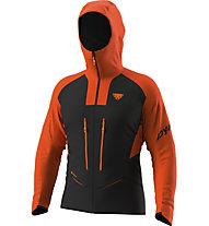 Dynafit TLT Gore-Tex® M - Alpinjacke mit Kapuze - Herren, Black/Orange