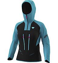 Dynafit TLT Gore-Tex® - Alpinjacke mit Kapuze - Damen, Black/Blue