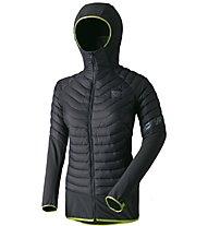 Dynafit TLT - Hybridjacke mit Kapuze Skitouren  - Damen, Dark Grey