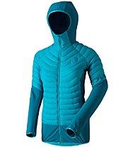 Dynafit TLT - Hybridjacke mit Kapuze Skitouren  - Damen, Blue