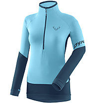 Dynafit TLT Light 1/2 Zip - Fleecepullover - Damen, Light Blue/Blue