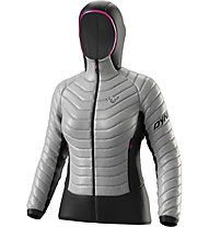 Dynafit TLT Light Insulated - Hybridjacke - Damen, Grey/Black/Pink