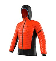 Dynafit TLT Light Insulation - giacca imbottita con cappuccio - uomo, Black/Orange/Blue