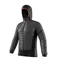 Dynafit TLT Light Insulation - giacca imbottita con cappuccio - uomo, Black/Grey/Red
