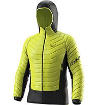 Dynafit TLT Light Insulation - giacca imbottita con cappuccio - uomo, Yellow/Black
