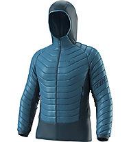Dynafit TLT Light Insulation - giacca imbottita con cappuccio - uomo, Light Blue/Dark Blue