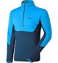 Dynafit Tlt Ptc - felpa in pile sci alpinismo - uomo, Light Blue/Blue